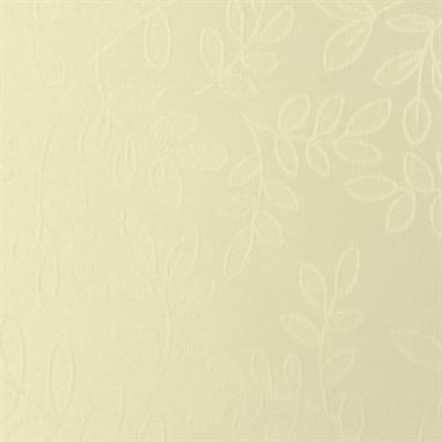бежевая рулонная штора с листьями фото