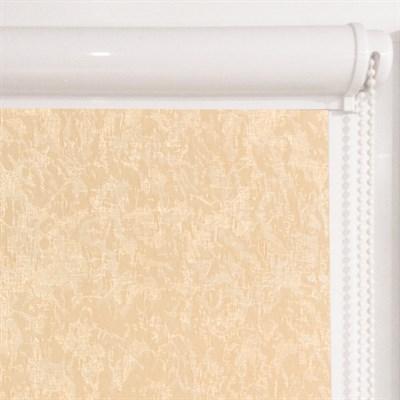 Рулонная штора в коробе, Жаккард, цвет бежевый - фото 7901