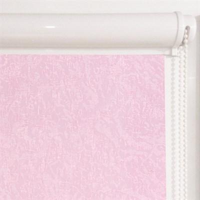 Рулонная штора в коробе, Жаккард, цвет розовый - фото 7921