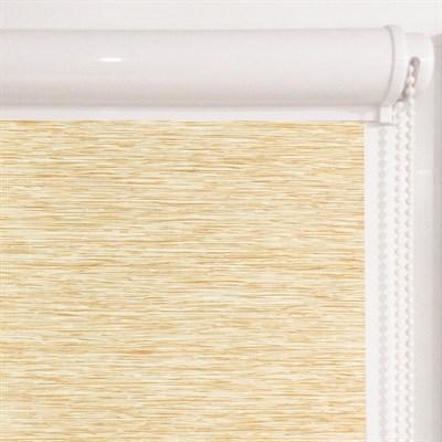 Рулонная штора в коробе, Кантри, цвет бежевый - фото 7931