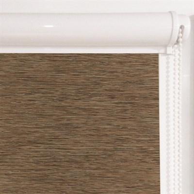 Рулонная штора в коробе, Кантри, цвет коричневый - фото 7936