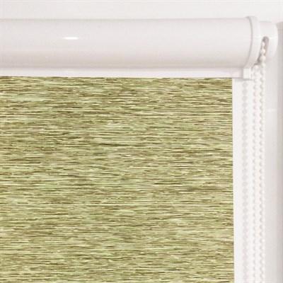 Рулонная штора в коробе, Кантри, цвет зеленый - фото 7941