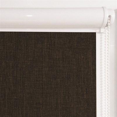 Рулонная штора в коробе, Урбан цвет коричневый - фото 7966