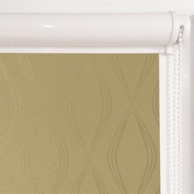 Рулонная штора в коробе, Инфинити, цвет бежевый - фото 7983