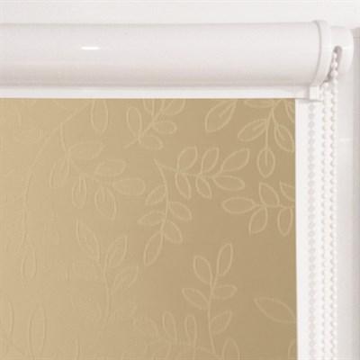 Рулонная штора в коробе, Сакура, цвет темн.бежевый - фото 8007