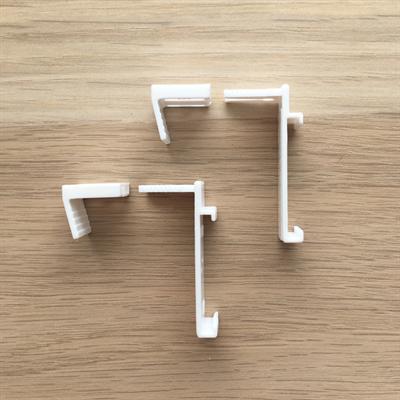 Кронштейны для поворотно-откидных створок окна, размер 36/20 мм (2 шт) - фото 8067