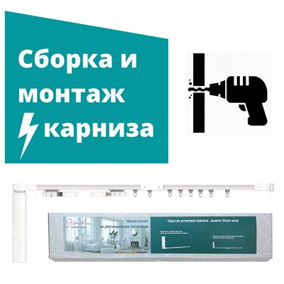 Сборка и монтаж ЭЛЕКТРОКАРНИЗА - фото 8502