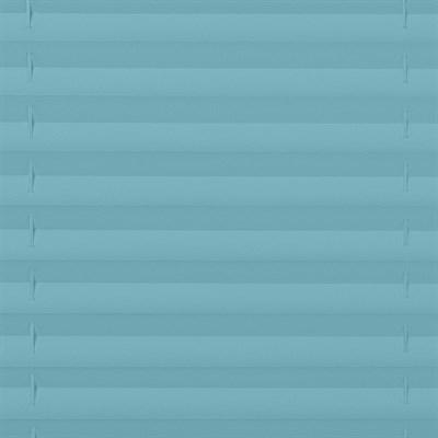 шторы плиссе голубого цвета, фото