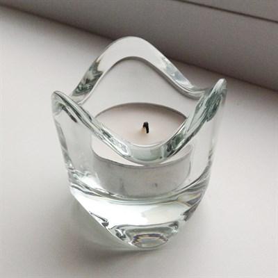 Набор: подсвечник Лед + 3 свечи - фото 8839