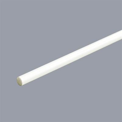 Вставка-стержень 6 мм, фиберглас, цвет белый, (ИНД). - фото 8843