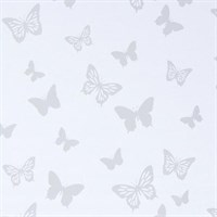 Рулонная штора с бабочками фото