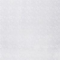белая рулонная штора в цветочек фото