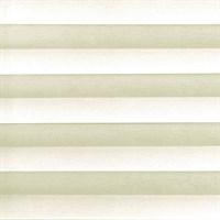 шторы плиссе светло-бежевого цвета - фото
