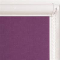 Рулонная штора в коробе, без рисунка, цвет фиолетовый