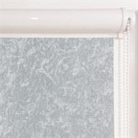 Рулонная штора в коробе, Жаккард, цвет серый