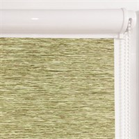 Рулонная штора в коробе, Кантри, цвет зеленый