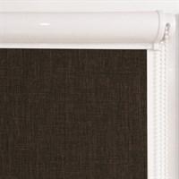Рулонная штора в коробе, Урбан цвет коричневый