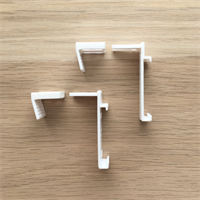 Кронштейны для поворотно-откидных створок окна, размер 36/20 мм (2 шт)